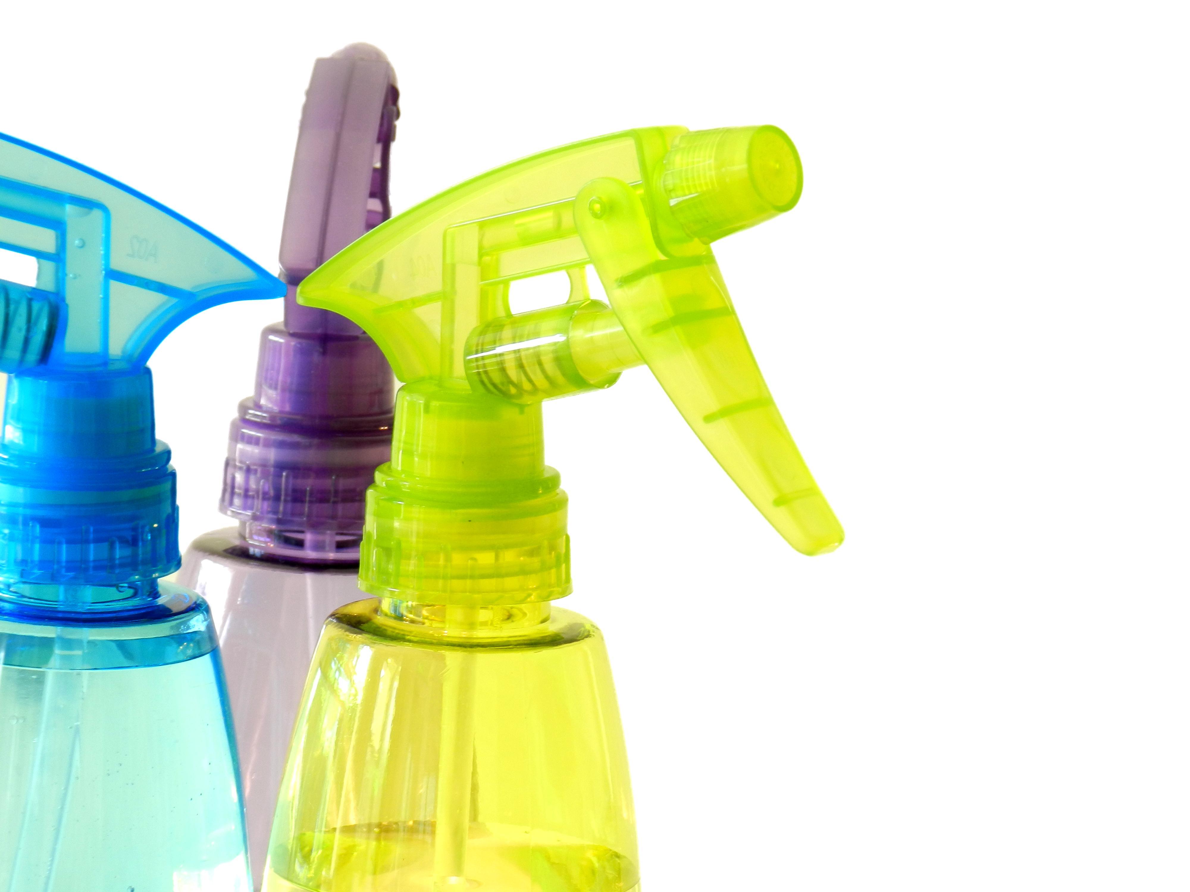 Cuidado con respirar productos químicos