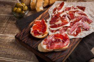 El jamón serrano, un gran producto de España
